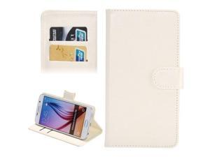 3.8-4.3 Inch Universal Crazy Horse Texture 360 Degree Rotating Carry Case with Holder & Card Slots for Samsung Galaxy SII / i9100 / iPhone 4 / 4s / 5 / 5c / 5s (White)
