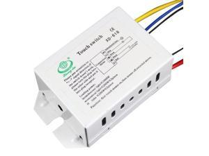 LED Electrostatic Inductive Touch Sensor Light Switch  (120~240V), XD618