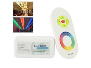 2.4G RF Wireless Touching Remote Control RGB LED Controller DC12-24V for RGB LED Strip Bulb