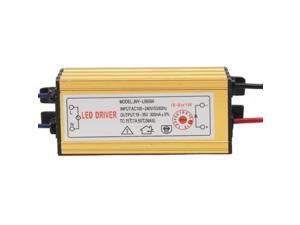 LED Driver with 2Pin JST Connector Cable for  (6-9) x 1W LED Floodlight Lamp, Input Voltage: AC 100-240V, Model: JNY-L0609A