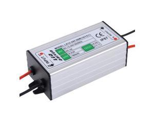 LZ12-24V Waterproof 50W LED Driver, DC 12-24V