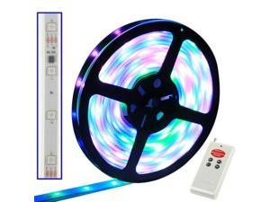 Casing Waterproof Full Color LED 5050 SMD Rope Light with LED Controller & RF Remote Controller, 30 LED/M, Length: 5M