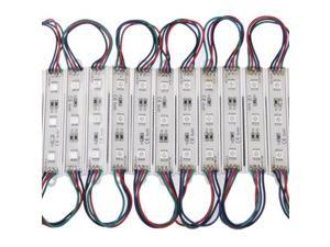 20x 3-LED RGB 5050 SMD LED Module Light Strip, DC 12V