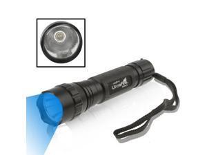 UltraFire WF-501B CREE Blue Light LED 1 Mode Flashlight (Black)