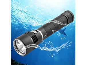 3 x CREE XM-L T6 LED 960lm Diving Flashlight, Diving Depth: 100m (Black)