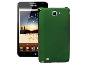 Plating Plastic Replacement Battery Cover for Samsung Galaxy Note / i9220 / N7000 (Green)