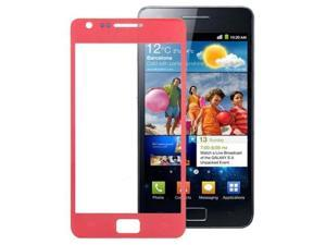 High Quality Front Screen Outer Glass Lens for Samsung Galaxy SII / i9100  (Red)