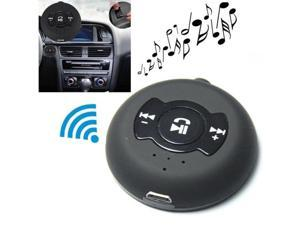 Universal Multi-point  (2-in-1) Car Bluetooth Music Receiver (Black)