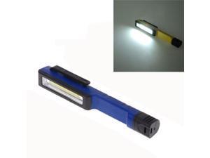 1COB LED 1.5W 160LM IPx4 1-Mode White Light Pen Type Flashlight (Blue)
