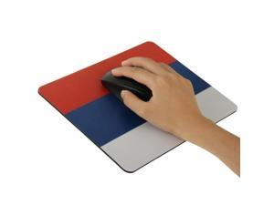 Stylish Russia Flag Pattern Mouse Pad, Size: 22cm x 18cm