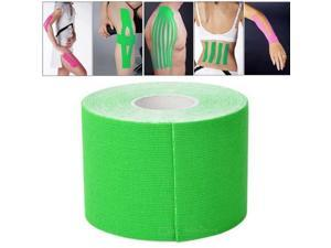 5M Waterproof Sports Safety Kinesiology Camouflage Kinesio Tape Bandage, Width: 5cm (Green)