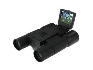 FS308 5.0MP CMOS 12 x 32 Zoom HD 1280x720P With 2.0 inch LCD Screen Telescope Binocular Digital Camera (Black)