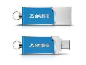 Teclast Micro/USB Dual Port 32GB U Disk USB Flash Fisk For Tablet Cellphone