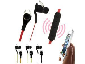 BT-H06 Wireless Mini Bluetooth Stereo Sport Earphone Earbud With Microphone (Yellow)