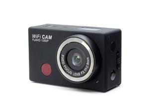 F21 Extreme Action Wifi Sport Camera Waterproof 1080P Full HD Mini DV IR Remote Controller Phone Wifi Control (Silver)