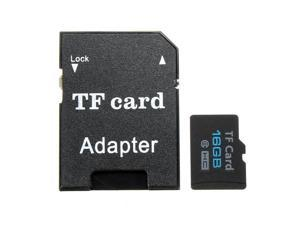 16G Micro SD TF Secure Digital High Speed Flash Memory Card Class 6 With Adapter