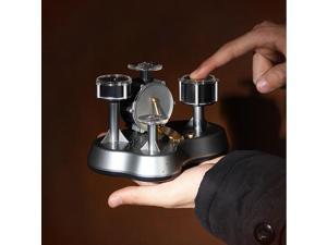 Mini Finger Drum Set Touch Drumming LED Light Jazz Percussion