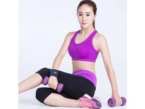 Pre-Shake Gather Wireless Sleeping Underwear Vest Running Sports Bra Black XL
