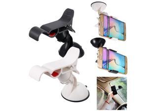 Universal Car Windscreen Mount Suction Holder Cradle For Samsung Galaxy S6 Black