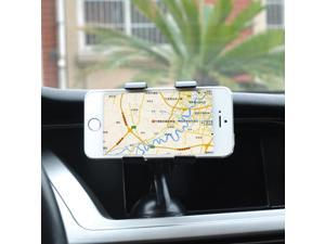 Upgrade Desktop Dual-purpose Car Holder Lazy Phone Holder Double Clips