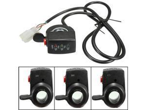 48V E-Bike Electric Car Throttle Engine 3 LED Indicator Display Button Switch