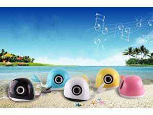 X9 Mini Portable Speaker Computer Laptop Smart Phones Tablet PC Voice Box USB 2.0 Speaker White