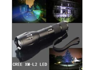 MECO CREE XM-L2 5 Modes 2000LM Zoomable LED Flashlight