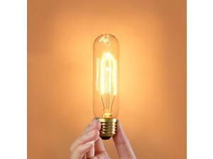 AC 110V T10 Edison Tungsten Filament Vintage Antique E27 Light