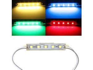 5 Colors 5 SMD 5050 LED Module Light Waterproof Strip Light Lamp 12V Blue