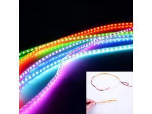 45CM Flexible SMD 3528 LED Strip Light For Home Motorcycle Car DC 12V Green