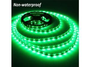 5M 3528 SMD 300 LEDs Green Non-waterproof led strip lights DC 12V