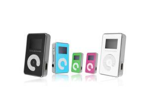Mini USB Clip MP3 Player 2 Inch LCD Screen Maximum Support 8GB Micro SD TF Card Blue
