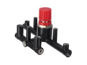 Pressure Manifold Regulator Panel Bracket Stand Support For Air Compressor Gauge