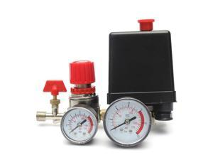 Bama Air Compressor Pneumatic Pressure Regulating Valve Accessorries 4 holes Meters