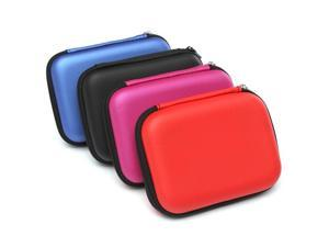 Carry Case Cover Pouch Bag For 2.5inch USB External Hard Disk Drive Laptop Red