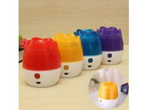 Mini 150ml Rose USB Home Bedroom Office Humidifier Purifier LED Mist Diffuser Red