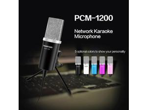 Takstar PCM-1200 Professional Microphone for KTV Computer MSN SKYPE Blue