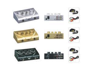 NKR Karaoke Echo Mixer Karaoke Sound Mixer Echo Effect Mixer Black