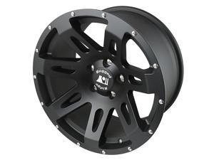 Rugged Ridge 15305.01 XHD&#59; Wheel&#59; 18 in. x 9 in.&#59; 5 in. x 5 in. Bolt Pattern&#59; 12 mm Offset&#59; Black Satin&#59;