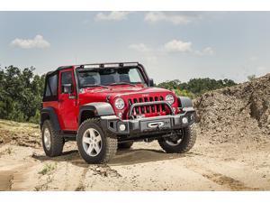 Rugged Ridge Overrider, Satin Black&#59; 07-16 Jeep Wrangler Jk 11544.02