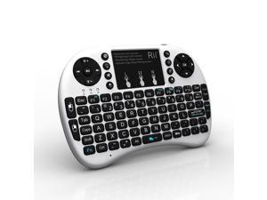 Rii i8 + Wireless 2.4G Mini Keyboard for Google Android Devices (Smart TV, TV Box, HTPC, PC, Notebook Pad and Other Games
