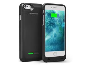 iPhone 6s Battery Case RAVPower Slim 3000mAh Extended Battery Case for iPhone 6 / 6s (4.7 inch) with 2A Input Faster Recharge and [Apple MFi Certified] - Black