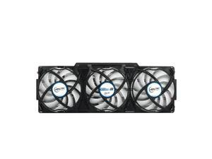 ARCTIC Accelero Xtreme III - High-End Graphics Card Cooler - nVidia & AMD, 3 Quiet 92mm PWM Fans, SLI/CrossFire, Support GTX 1080, GTX 1070, GTX 980 Ti, GTX Titan X, RX 480, R9 390X, R9 290X and more.