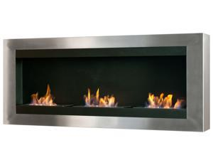 Magnum Wall Mounted Bio Ethanol Fireplace without Glass