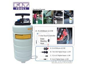 15L Pneumatic / Air & Manual / Hand Oil & Fluid Extractor Vacuum Pump