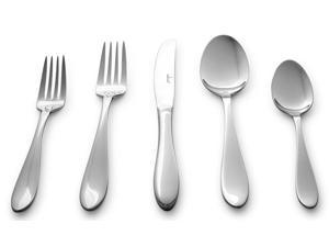 Culina Lorena Flatware for 4 18/10 Stainless Steel Silverware - 20pcs - Mirror Finish