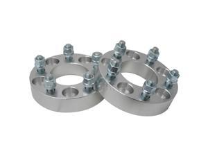 "2pc 1.25"" 5x115 to 5x120.7 Wheel Adapters/Spacers (5x4.53 to 5x4.75) with 12x1.5 Studs"
