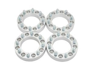 "(4) 1.5"" 8x6.5 to 8x170 Wheel Adapters Chevy Silverado GMC Sierra Yukon Hummer H1 H2 Spacers 14x1.5"