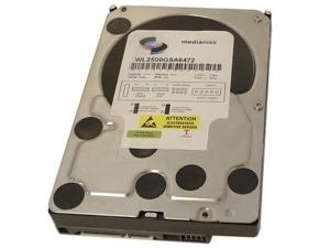 "New 2.5TB 7200RPM 64MB Cache SATA2 3.5"" Hard Drive 1 year"