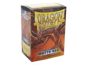 Standard Sleeves - Matte Red (10 Packs of 100) SW (MINT/New)